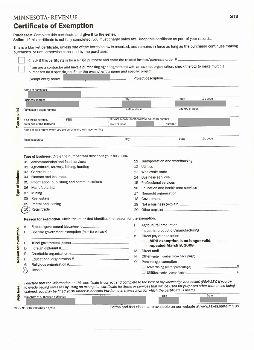 California Resale Certificate Template Luxury Resale Sales Tax License — Agron Llc