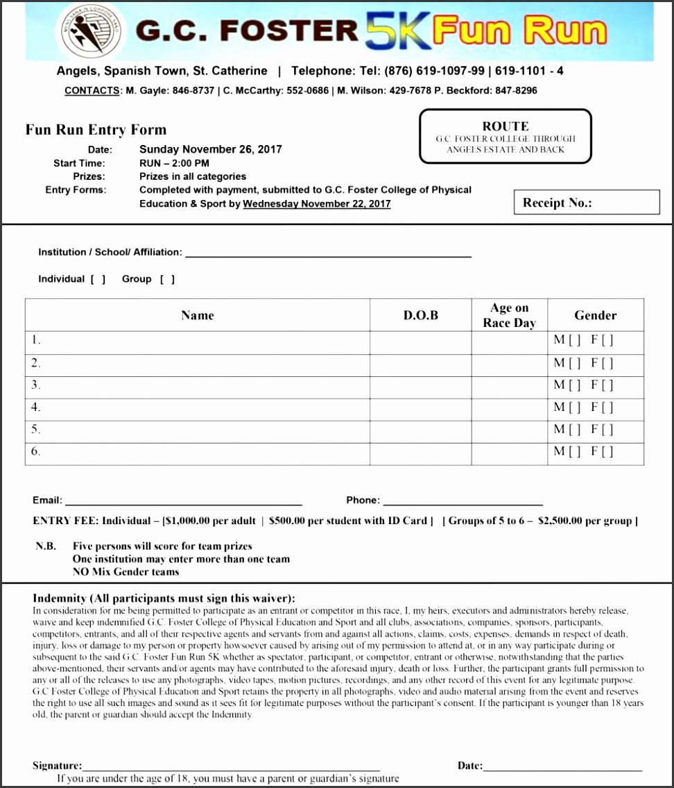 Camp Registration form Template New 8 Sports Camp Registration form Template