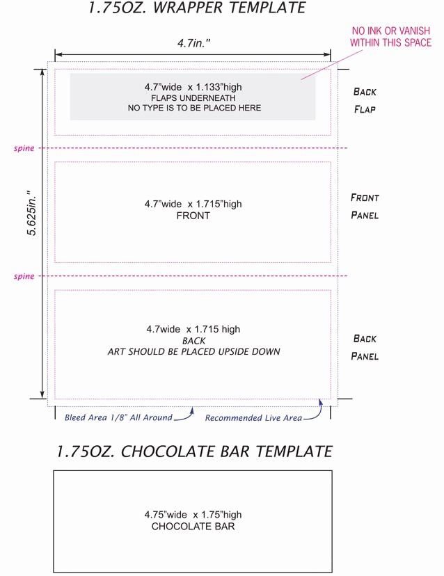 Candy Bar Wrapper Template Word Beautiful Candy Bar Wrappers Template Google Search
