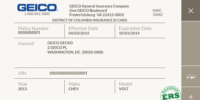 Car Insurance Card Template Lovely Fake Insurance