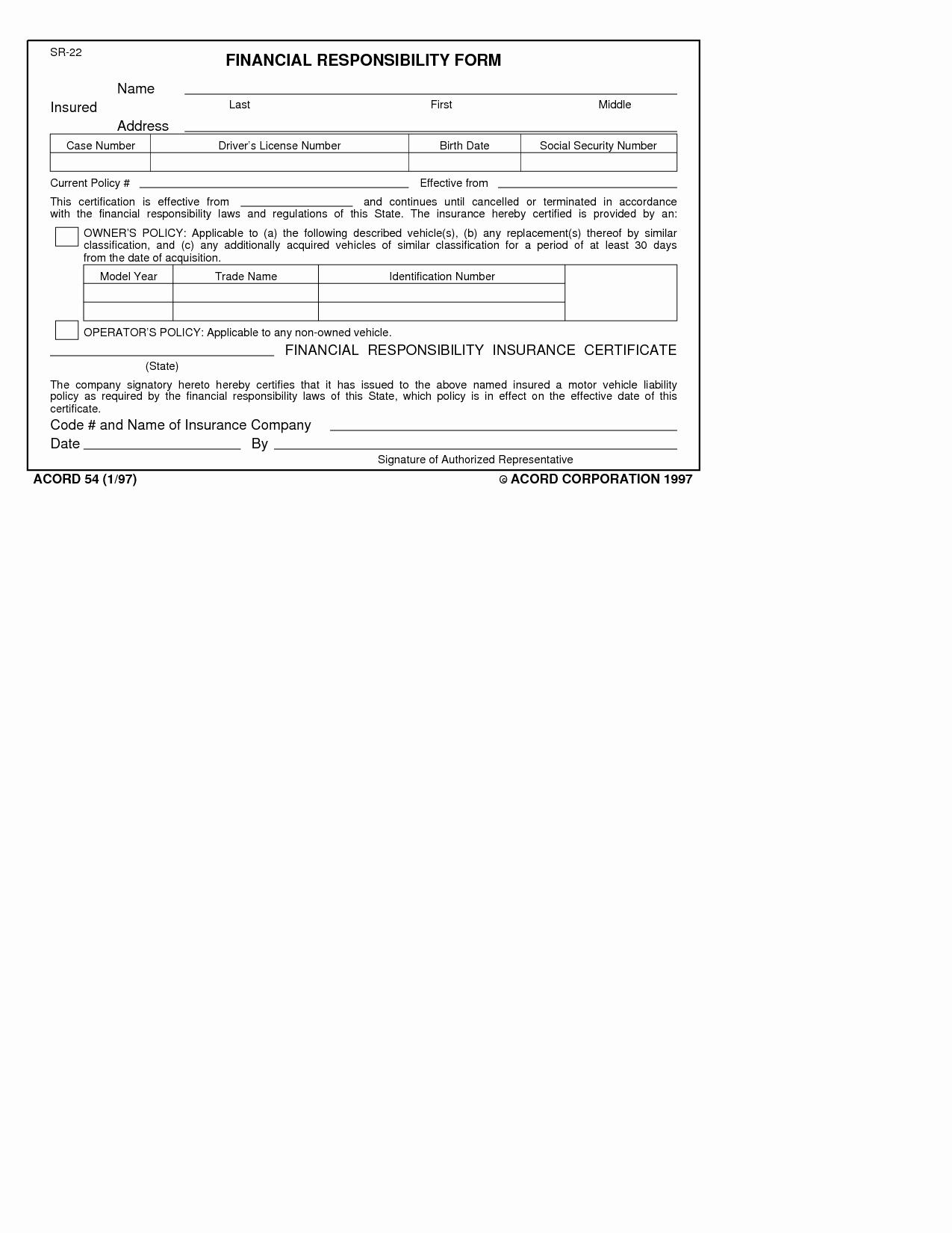 Car Insurance Card Template New Texas Liability Insurance Card