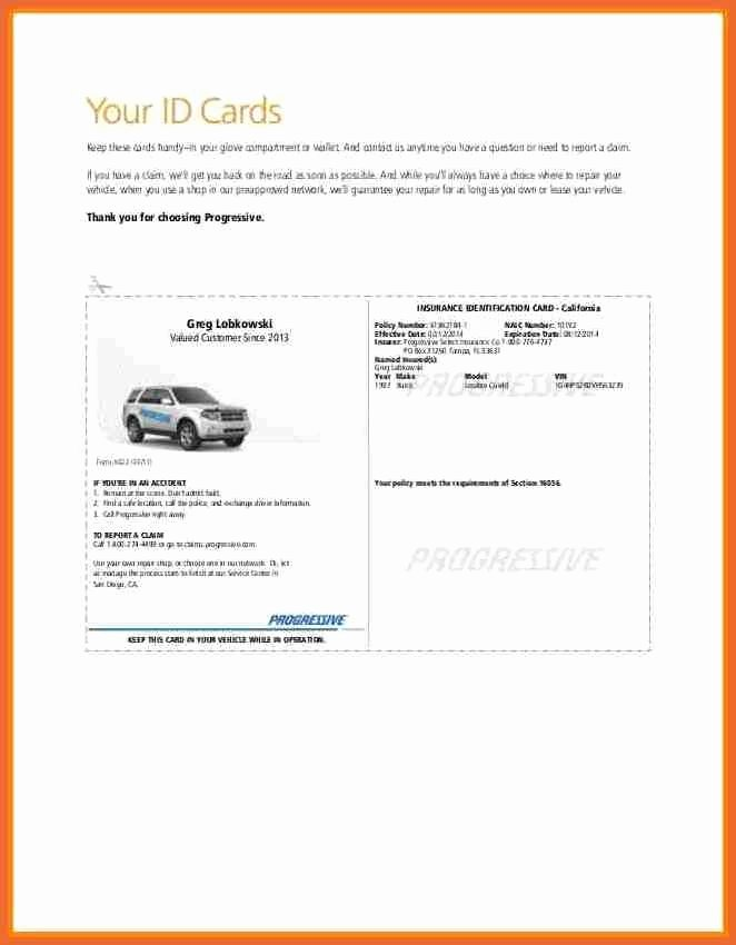 Car Insurance Templates Free Lovely Auto Insurance Cards Templates Insurance Card Templatefree