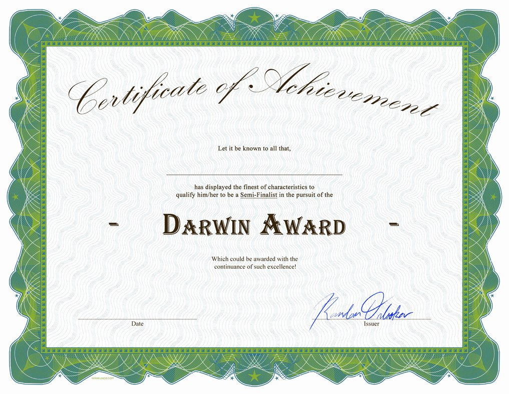 Car Show Award Certificate Template New Darwin Award Wot Edition Gameplay World Of Tanks