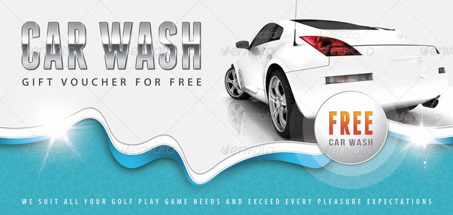 Car Wash Gift Certificate Template Best Of Car Wash Gift Voucher V12 by Rapidgraf
