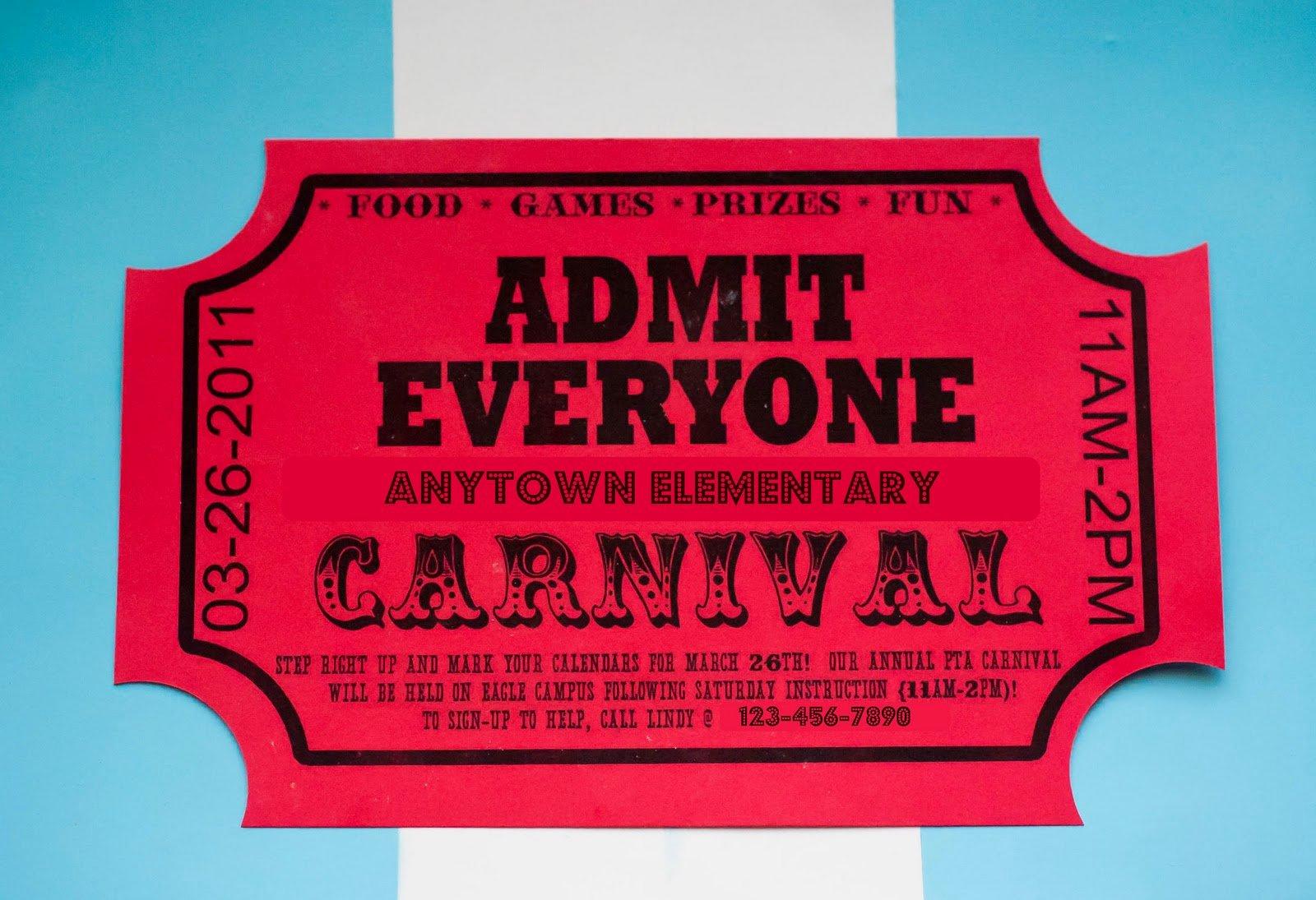 Carnival Ticket Invitation Template Free Elegant How to Make Big Money Writing Line