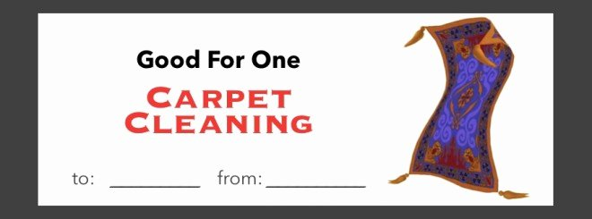 Carpet Cleaning Gift Certificate Template Unique 10 Priceless Ts that Cost Almost Nothing