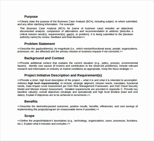 Case Study format Lovely 9 Sample Case Analysis Templates Word Pdf