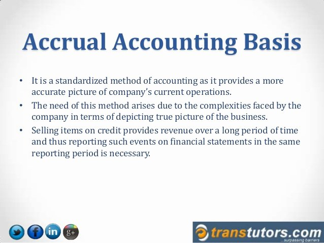 Cash Basis Income Statement Example Elegant What is Cash and Accrual Accounting