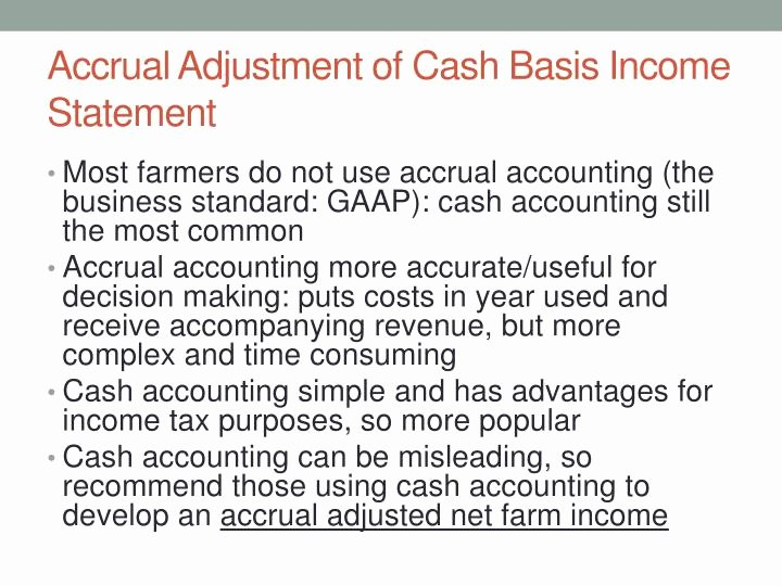 Cash Basis Income Statement Example New Accrual Basis Accounting In E Statement Example