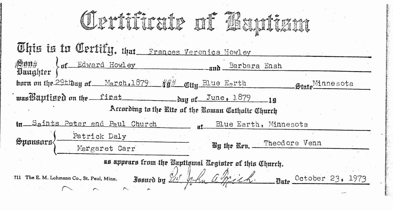 Catholic Baptismal Certificate Template Lovely Mashababko Certificate Wallpaper