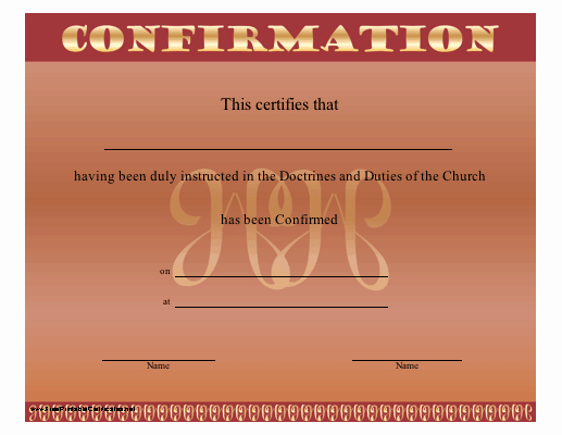 Catholic Confirmation Certificate Template Best Of Free Catholic Confirmation Cake Ideas and Designs