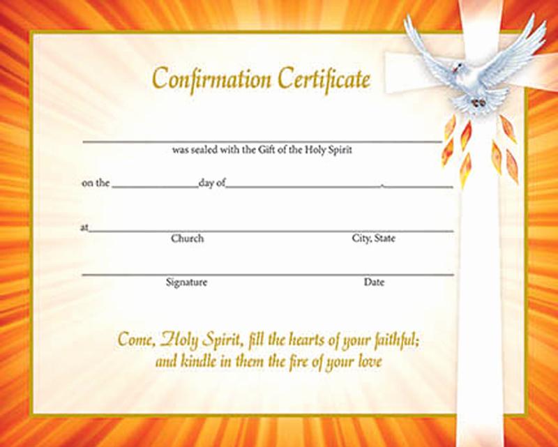 Catholic Confirmation Certificate Template Elegant 29 Of Methodist Baptism Certificate Template