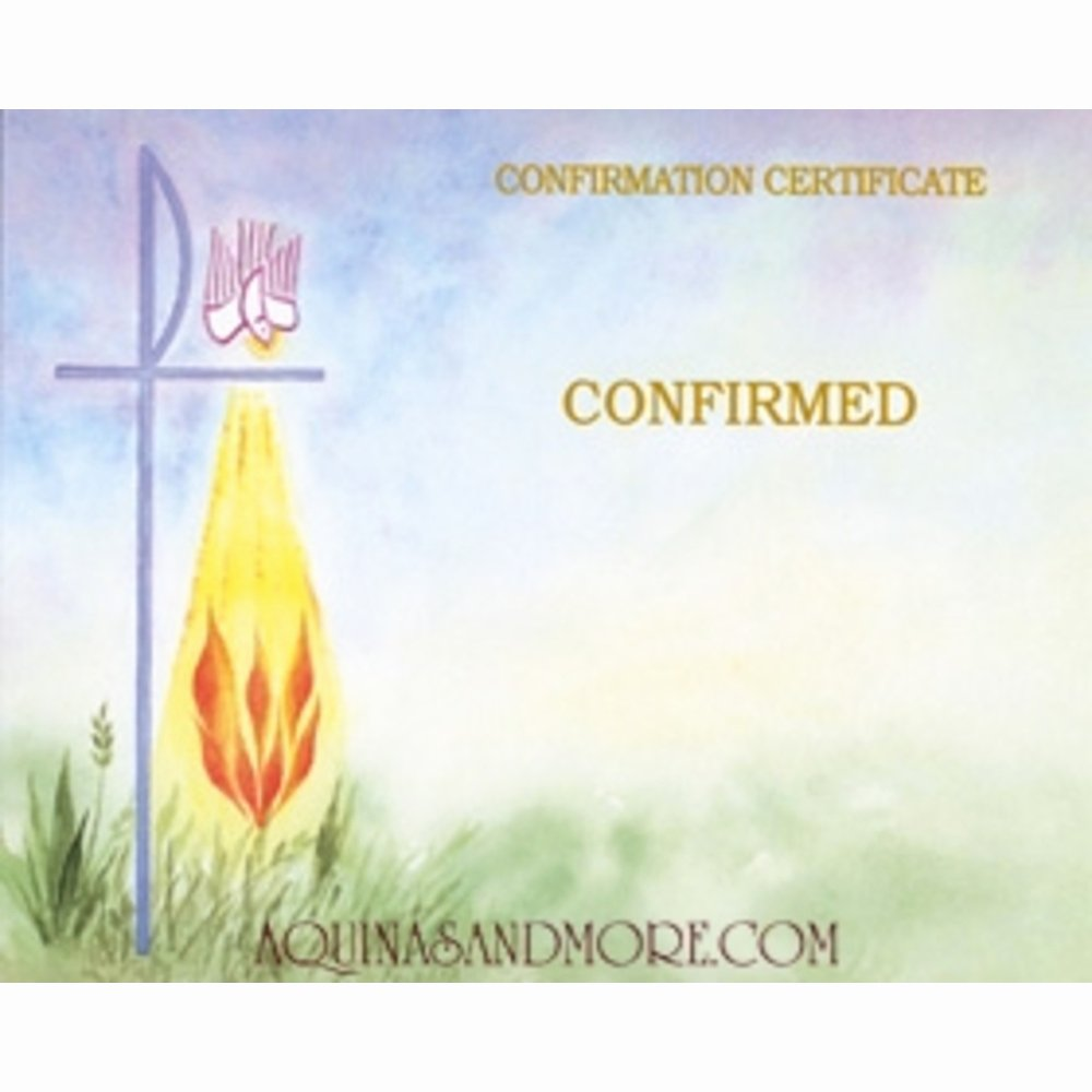 Catholic Confirmation Certificate Template Elegant Confirmation Watercolor Create Your Own Certificates Set