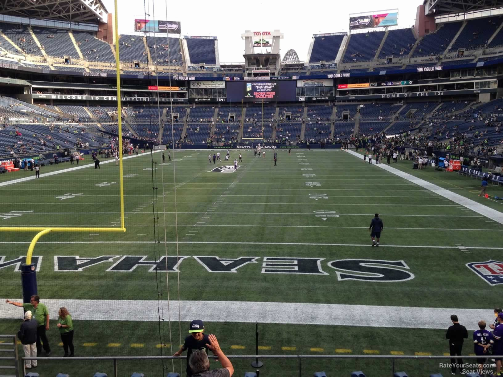 Centurylink Seating Chart with Rows and Seat Numbers Best Of Centurylink Field Section 147 Seattle Seahawks