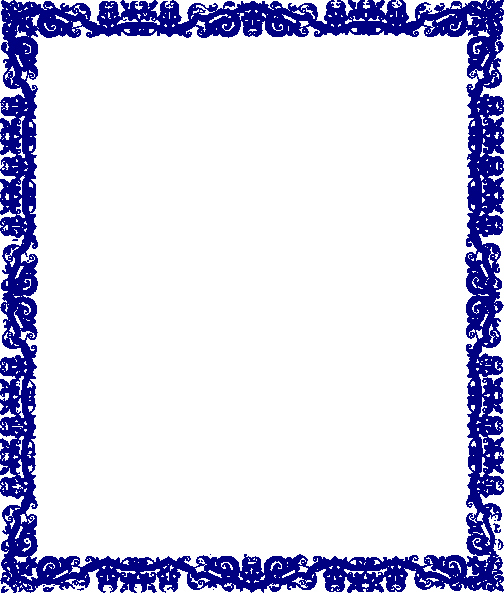 Certificate Border Design Png Unique Blue Border Design Clip Art at Clker Vector Clip Art
