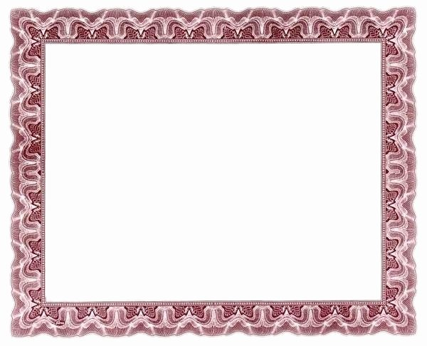 Certificate Borders for Word Awesome Certificate Borders for Word Document In Border Designs