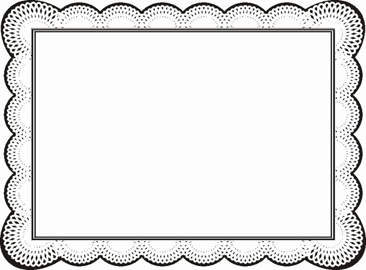 Certificate Borders for Word Elegant Free Certificate Borders for Word Clipart Best