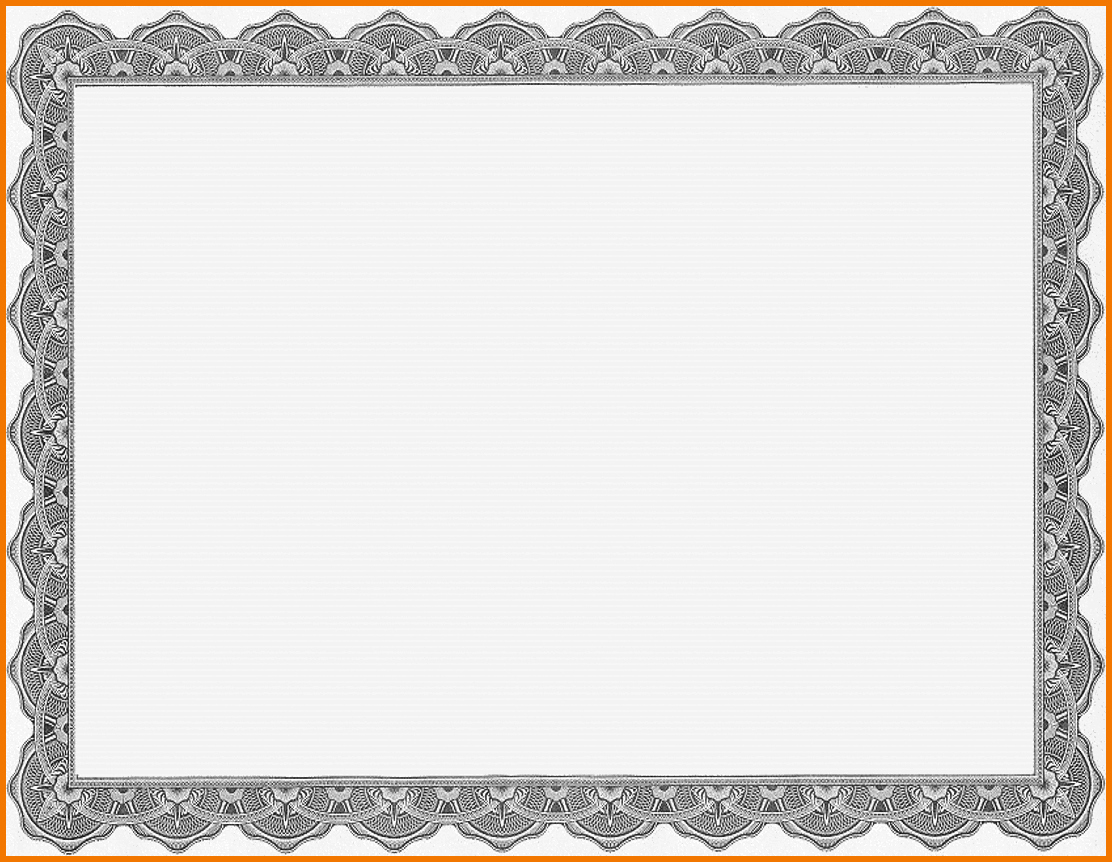 Certificate Borders for Word Luxury Certificate Border Template Microsoft