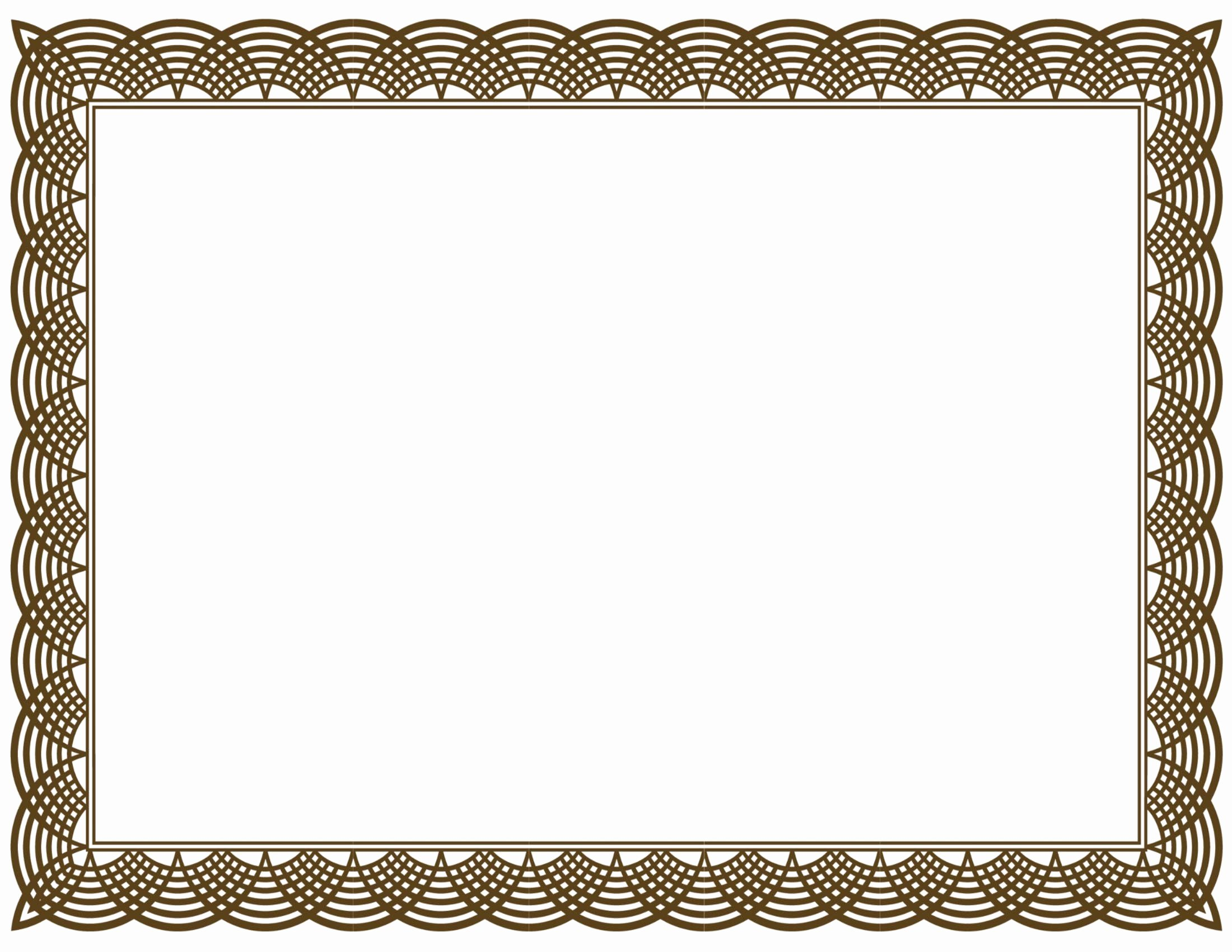 Certificate Borders for Word New 20 Printable Certificate Borders