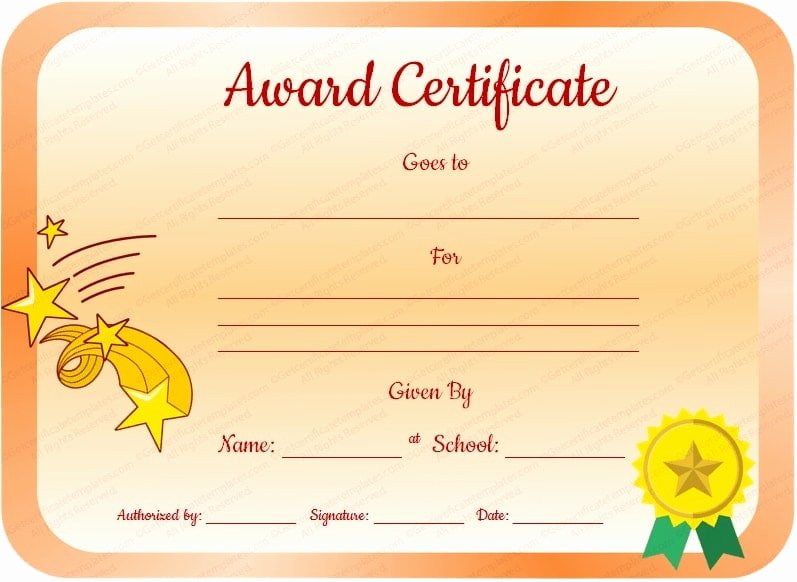 Certificate Ideas for Students Awesome 8 Student Award Certificate Examples Psd Ai Doc