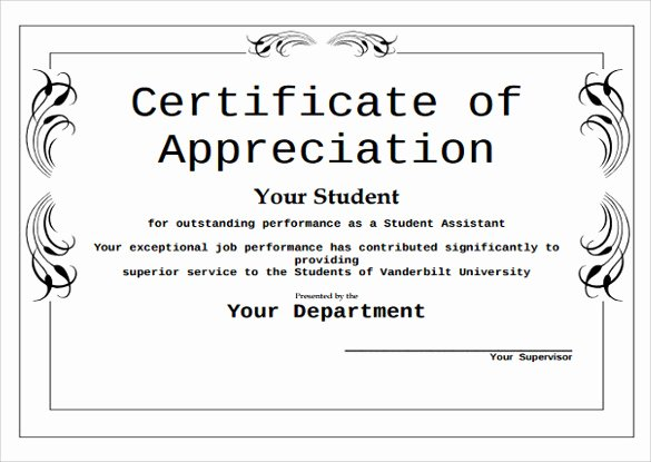 43 formal and informal editable certificate template examples for your inspiration