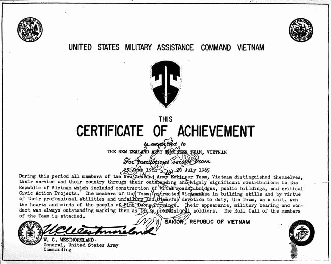 Certificate Of Achievement Army form Elegant Newzad Certificate Of Achievement