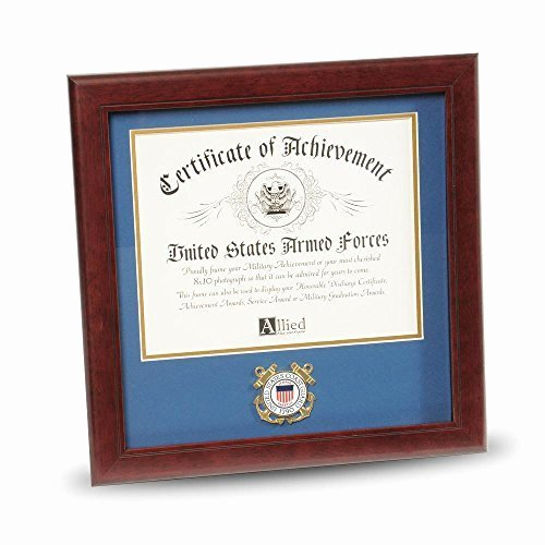 Certificate Of Achievement Frame Best Of Allied Frame United States Coast Guard Certificate Of