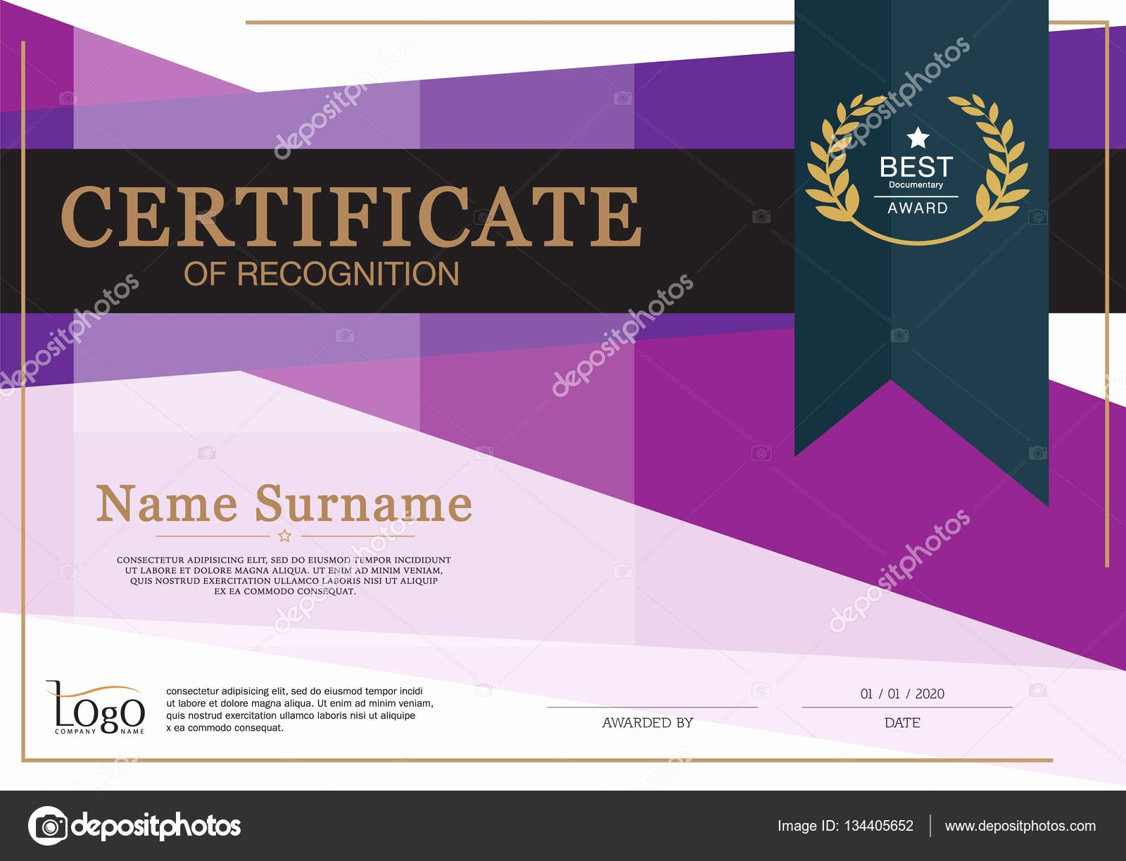 Certificate Of Achievement Frame Best Of Certificate Of Achievement Frame Design Template Premium