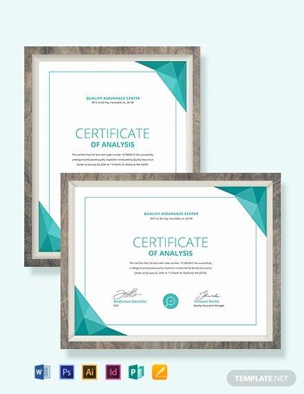 Certificate Of Analysis Template Excel Best Of Free Club Membership Certificate Template Download 518