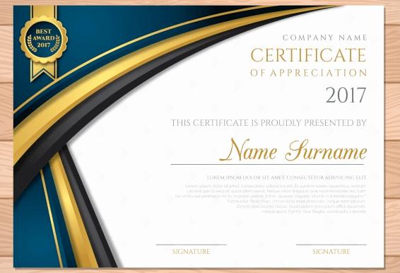 Certificate Of Appreciation Graduation Beautiful 50 Multipurpose Certificate Templates and Award Designs