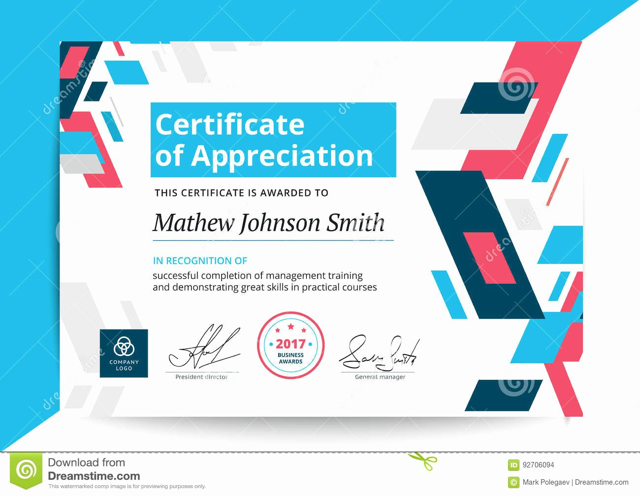 Certificate Of Appreciation Graduation Best Of Certificate Appreciation Template In Modern Design