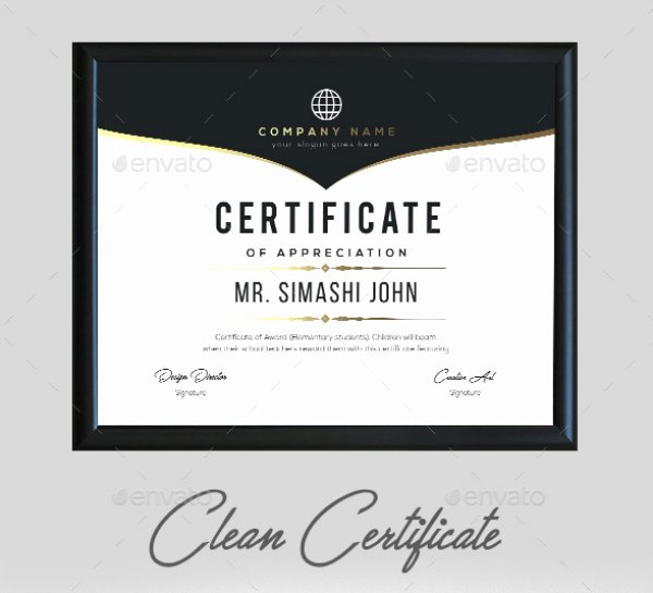 Certificate Of Appreciation Graduation Elegant 10 Graduation Appreciation Certificate Template Psd Ai