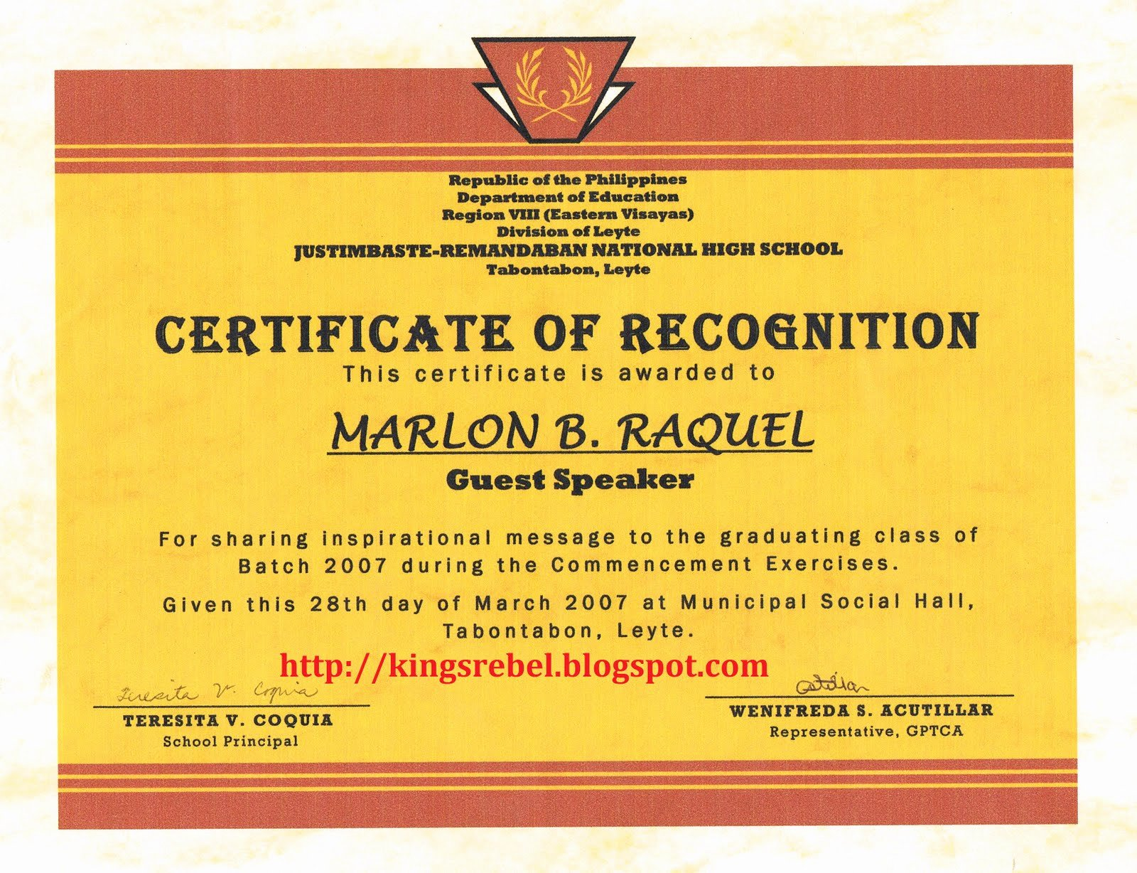 Certificate Of Appreciation Graduation Elegant Tidbits and bytes Example Of Certificate Of Appreciation