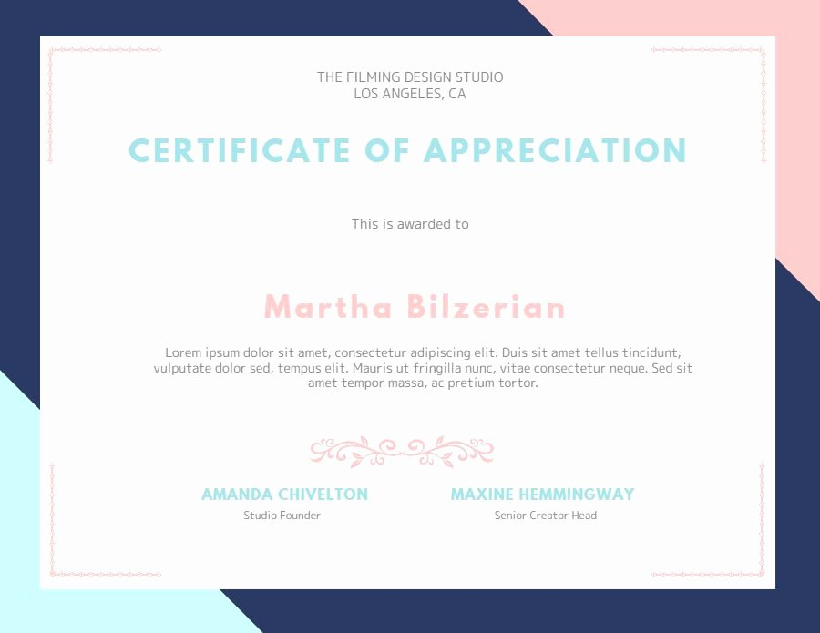 Certificate Of Appreciation Graduation Fresh Custom Certificate Of Appreciation Graduation Diploma