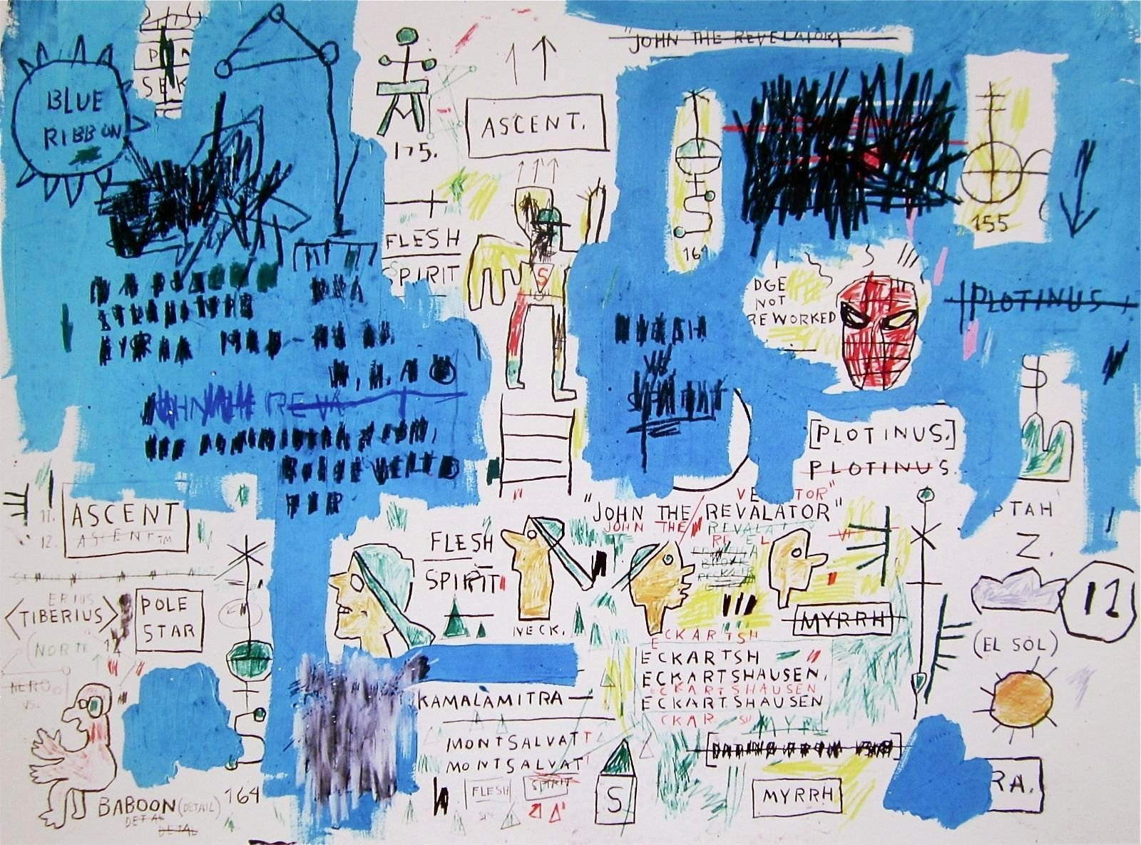 Certificate Of Authenticity Paper Lovely ascent Giclee Print Jean Michel Basquiat In 2019