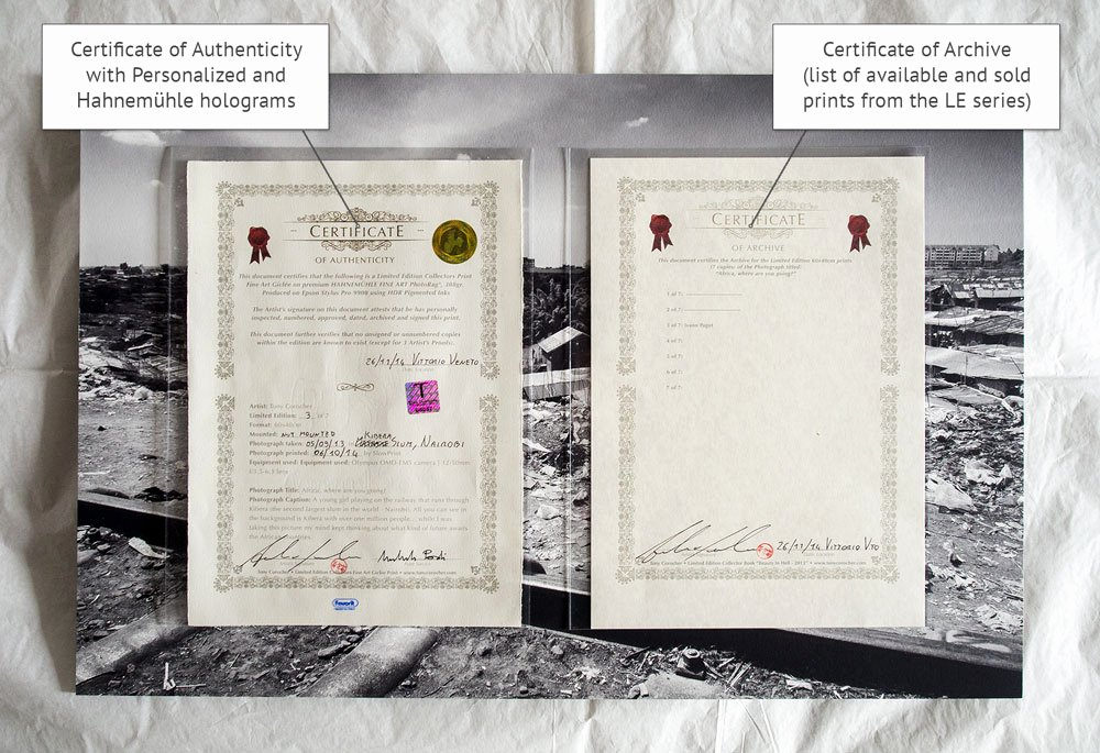 Certificate Of Authenticity Photography Best Of Fine Art Prints at tony Corocher Graphytony Corocher