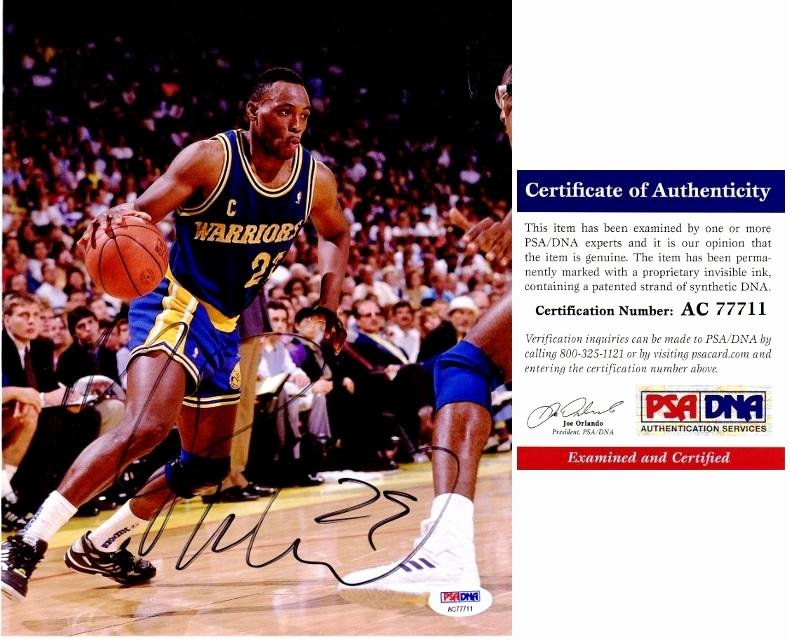Certificate Of Authenticity Sports Memorabilia Template Best Of Mitch Richmond Signed Autographed Golden State Warriors