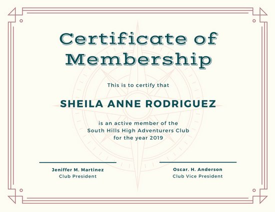 Certificate Of Church Membership Template Best Of Customize 1 965 Certificate Templates Online Canva