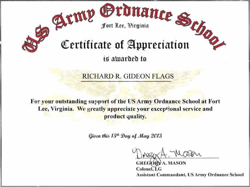 Certificate Of Commendation Usmc Template Luxury Certificates Appreciation Wording Template Update234
