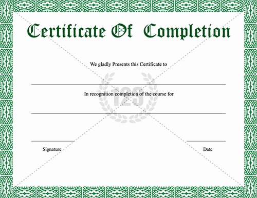 Certificate Of Completion Images Awesome 12 Certificate Pletion Psd Internship