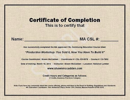 Certificate Of Completion Images Unique Sample Ma Csl Ceu Course Pletion Certificate