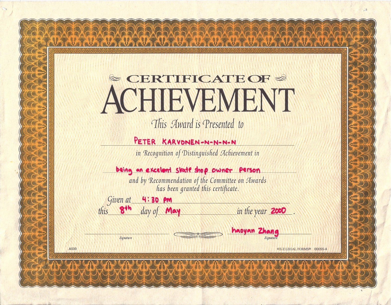 Certificate Of Completion Wording Awesome Quotes About Certificate 105 Quotes