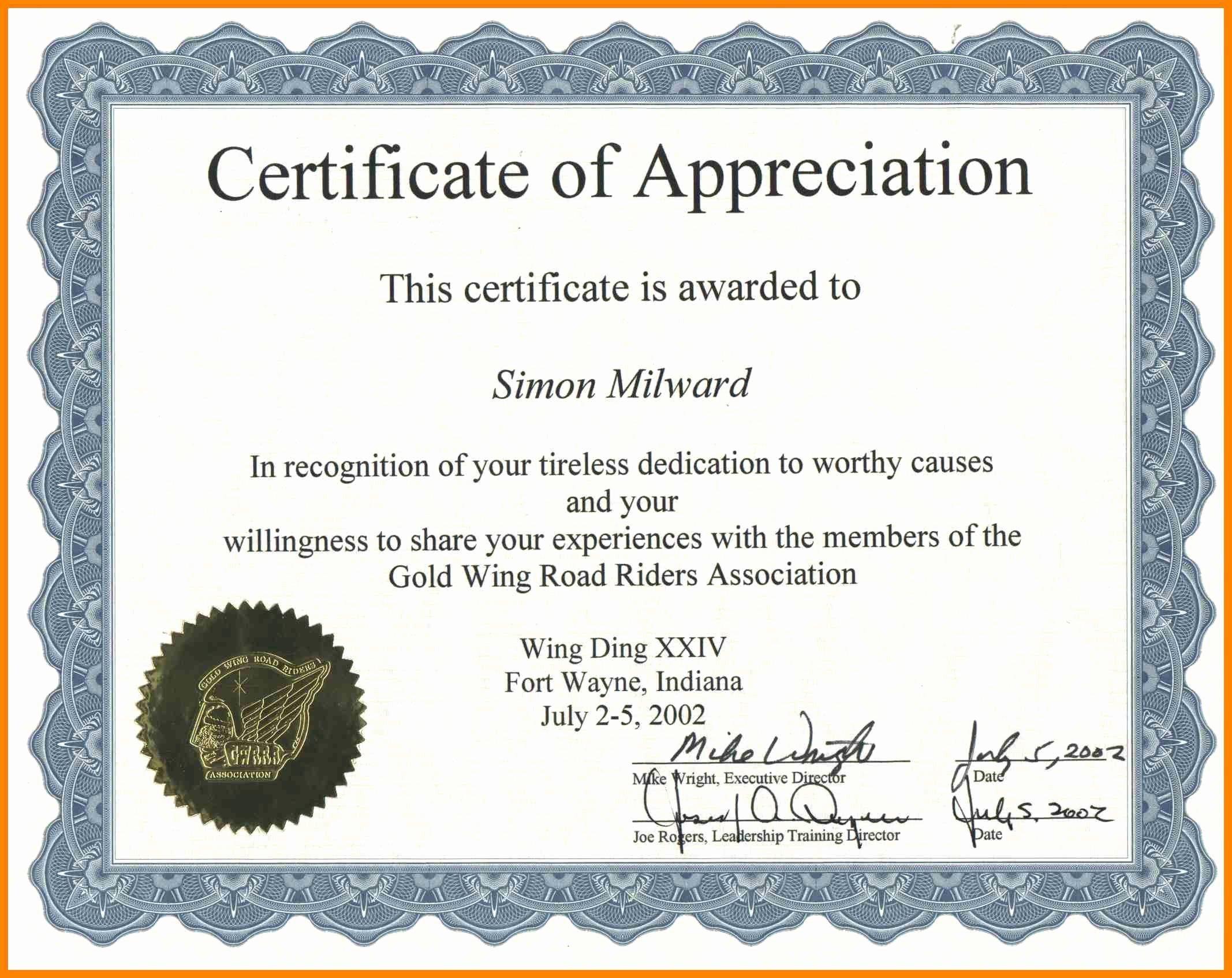 Certificate Of Completion Wording Best Of Certificate Achievement Wording – Printable Receipt