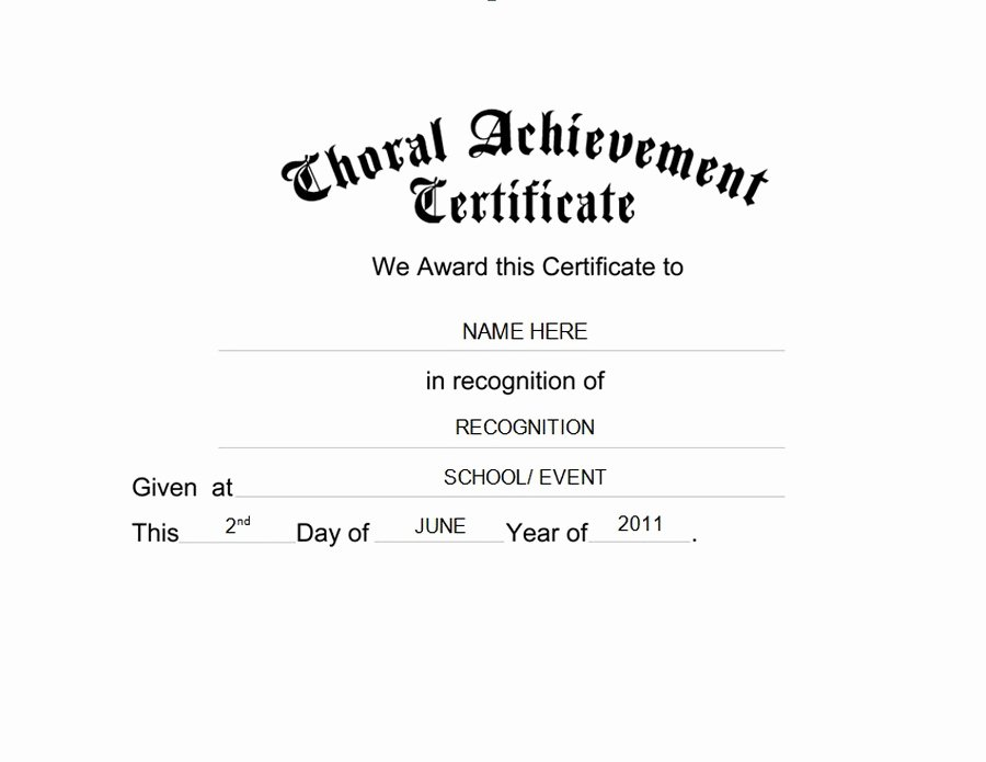 Certificate Of Completion Wording Inspirational Awards Certificates