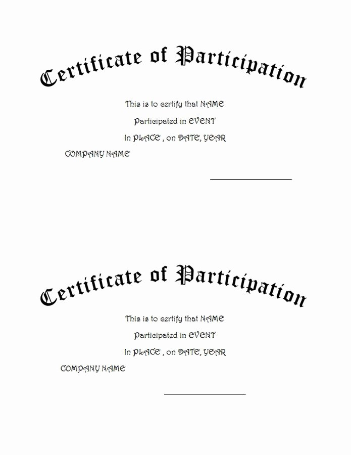 Certificate Of Completion Wording New Awards Certificates