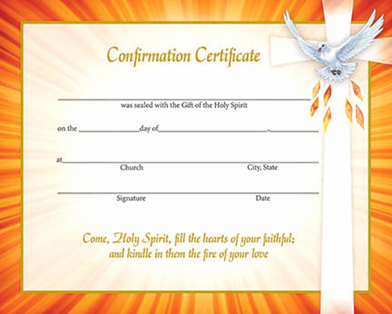 Certificate Of Confirmation Template Luxury 29 Of Methodist Baptism Certificate Template