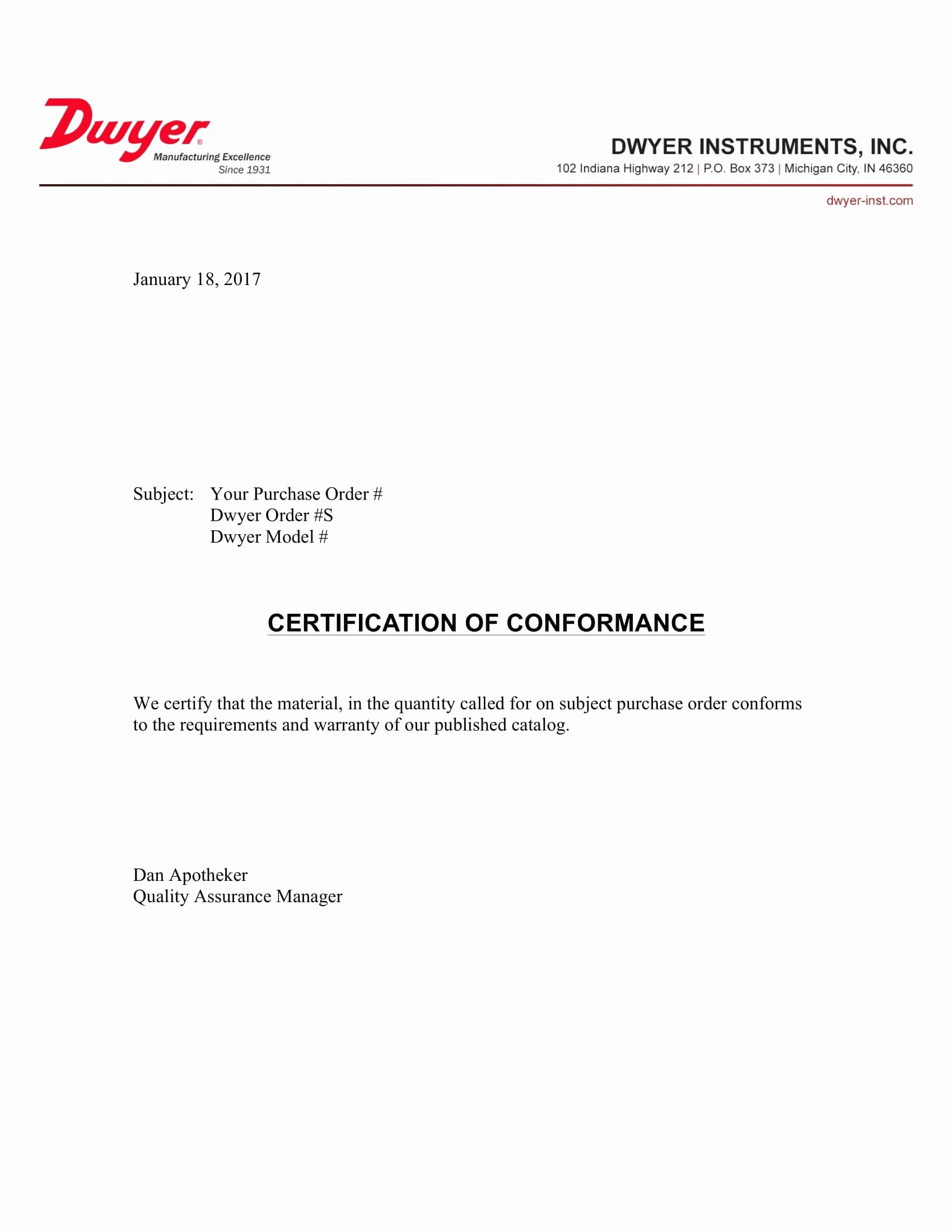 Certificate Of Conformance Template Word Awesome 16 Certificate Of Conformance Example Pdf Word Ai