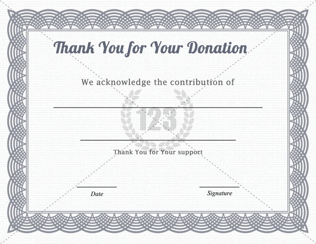 Certificate Of Donation Template Inspirational 30 Of Donation Certificate Template