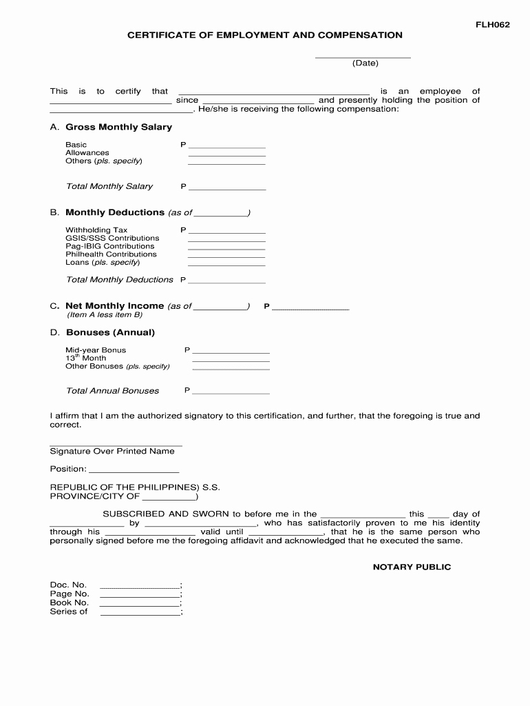 Certificate Of Employment Doc Luxury Fillable Line Pagibigfund Gov Certificate Of Employment