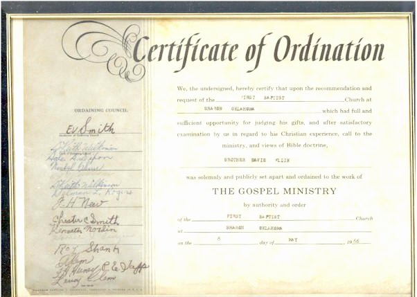 certificate of ordination free printable certificates